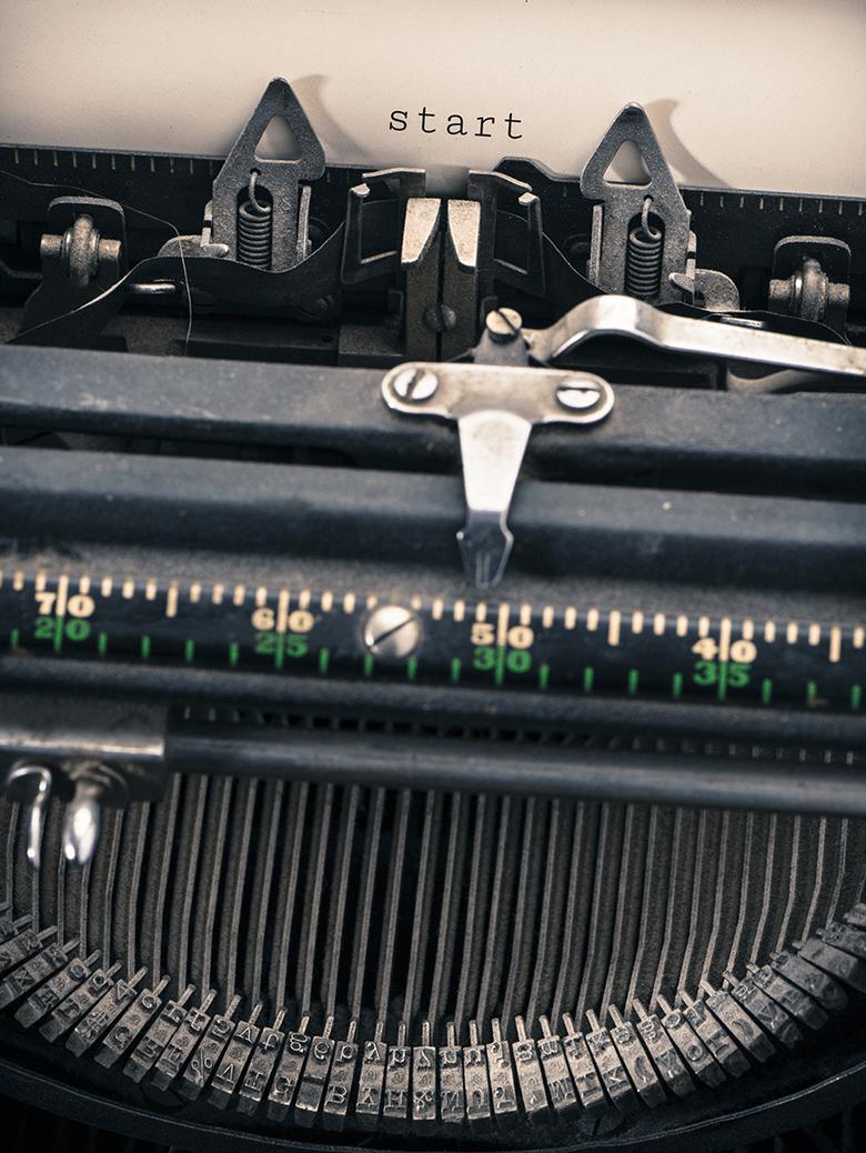 typewriter, vintage, berwicks, office, technology